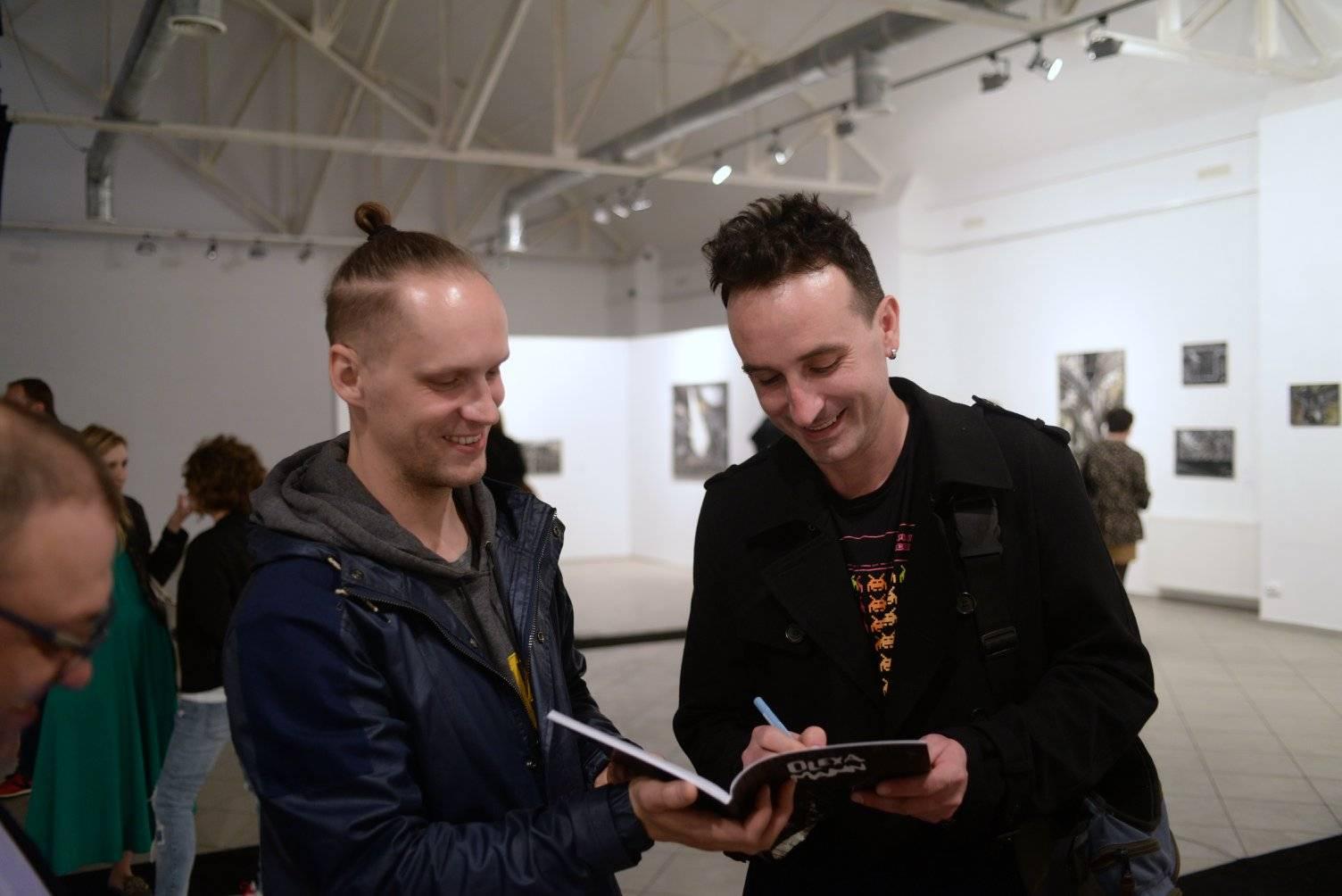 Олекса Манн щодо скульптури Льоши Золотарьова