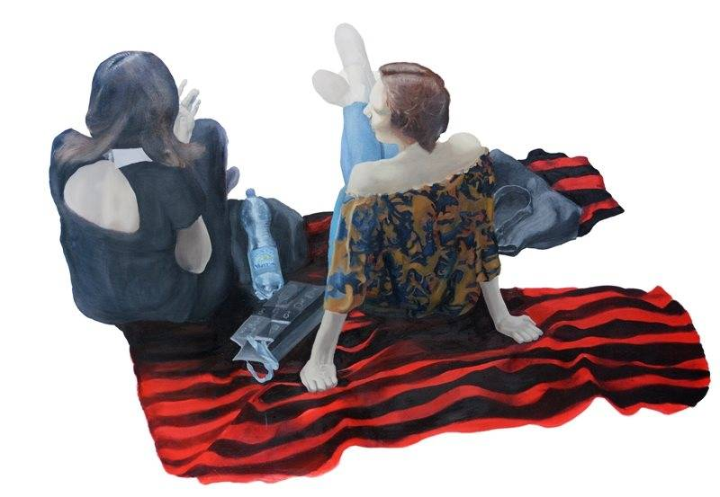 Виставка Олега Шедловськогов в галереї НЮ АРТ (Київ)
