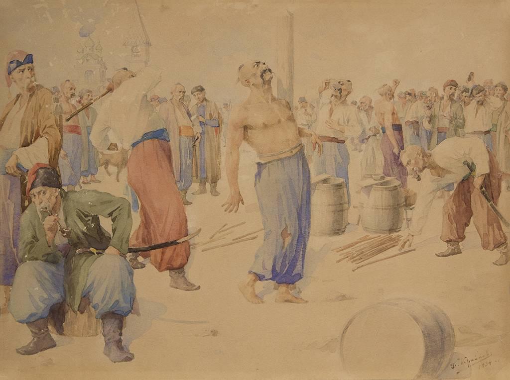 Оцифровані акварелі миколаївського музею виявилися ескізами відомих картин