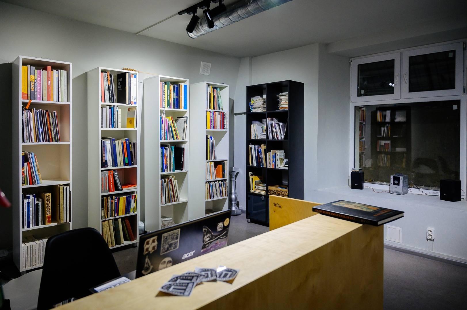Открытие библиотеки книг по искусству в Muzeon