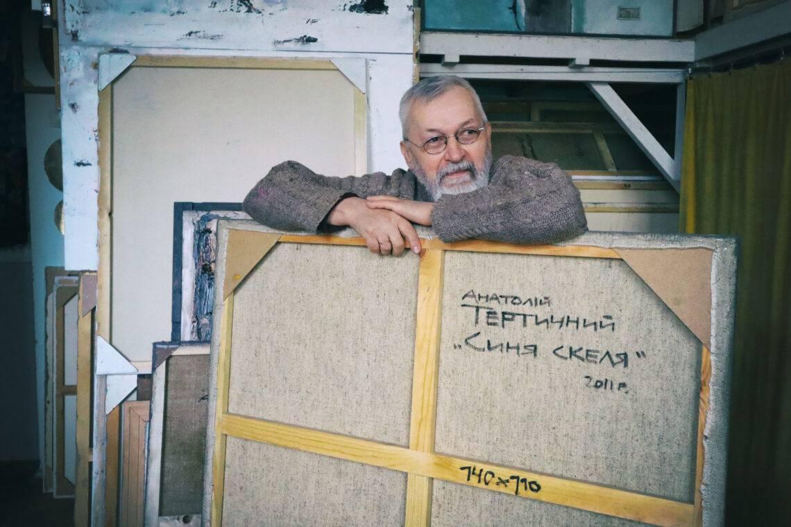 Анатолій Тертичний, Віктор Віниченко - розмова в майстерні.